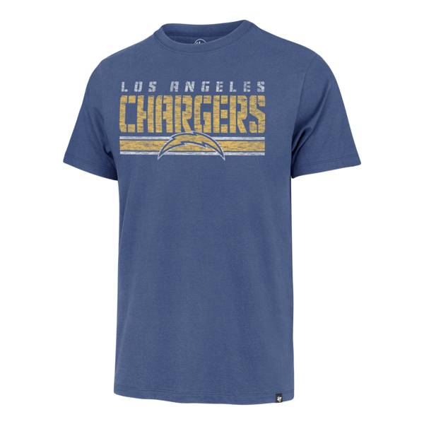 '47 Men's Los Angeles Chargers Blue Franklin Stripe T-Shirt product image