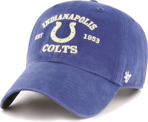 '47 Men's Indianapolis Colts Royal Reign Brockman Adjustable Hat product image