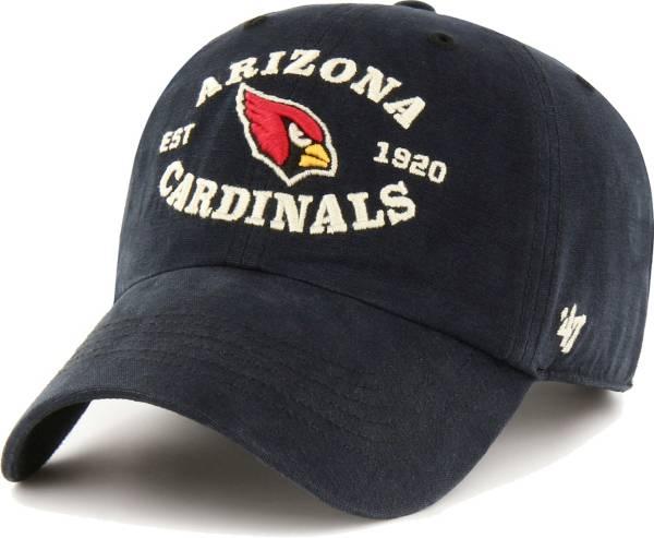'47 Men's Arizona Cardinals Black Reign Brockman Adjustable Hat product image