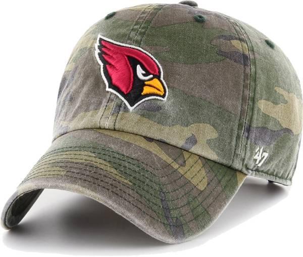 '47 Men's Arizona Cardinals Camo Reign Clean Up Adjustable Hat product image