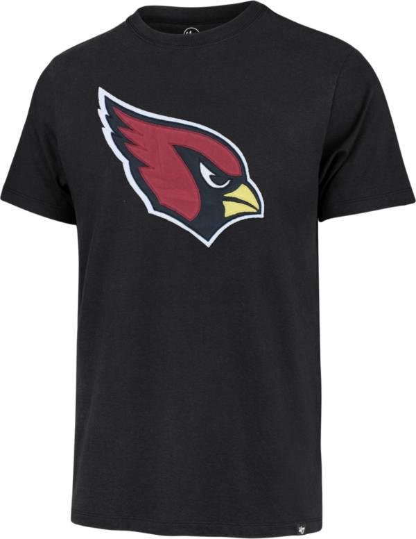'47 Men's Arizona Cardinals Black Fieldhouse T-Shirt product image
