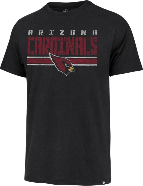 '47 Men's Arizona Cardinals Black Stripe Franklin T-Shirt product image