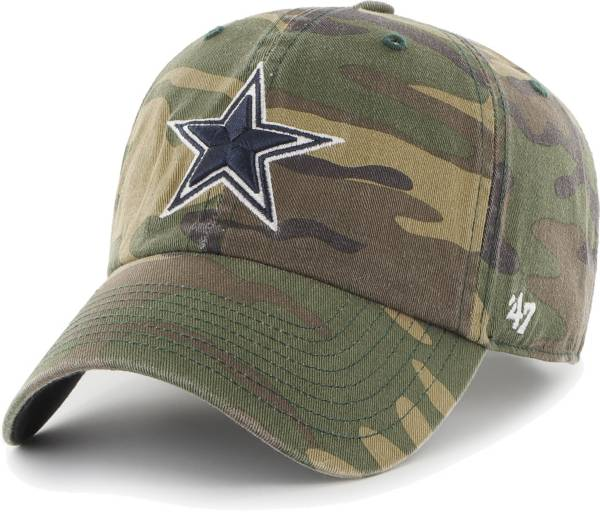 '47 Men's Dallas Cowboys Camo Clean Up Adjustable Hat product image