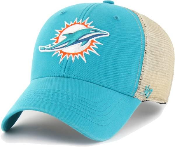 '47 Men's Miami Dolphins Aqua Flagship MVP Adjustable Hat product image