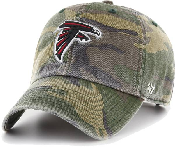 '47 Men's Atlanta Falcons Camo Reign Clean Up Adjustable Hat product image
