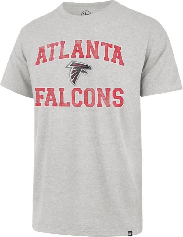 '47 Men's Atlanta Falcons Grey Arch Franklin T-Shirt product image