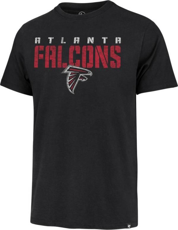 '47 Men's Atlanta Falcons Black Stripe Franklin T-Shirt product image
