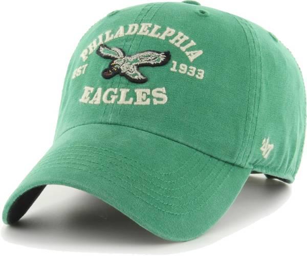 '47 Men's Philadelphia Eagles Green Brockman Legacy Adjustable Hat product image