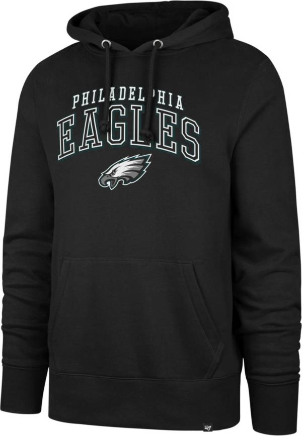 '47 Men's Philadelphia Eagles Black Double Decker Headline Hoodie product image