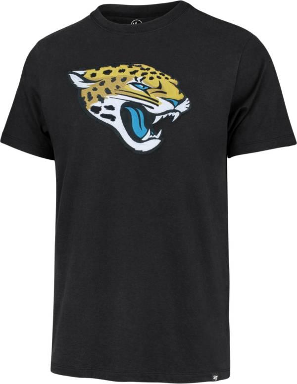 '47 Men's Jacksonville Jaguars Black Fieldhouse T-Shirt product image