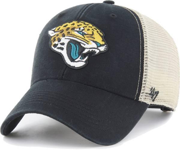 '47 Men's Jacksonville Jaguars Black Flagship MVP Adjustable Hat product image