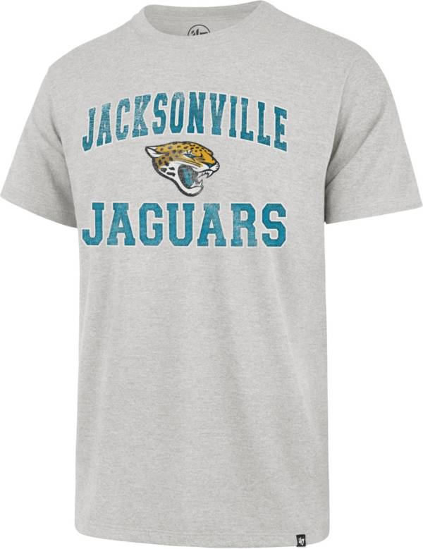 '47 Men's Jacksonville Jaguars Grey Arch Franklin T-Shirt product image