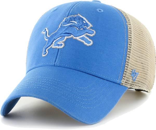 '47 Men's Detroit Lions Blue Flagship MVP Adjustable Hat product image