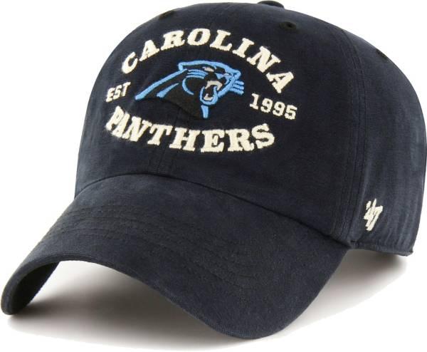 '47 Men's Carolina Panthers Black Reign Brockman Adjustable Hat product image