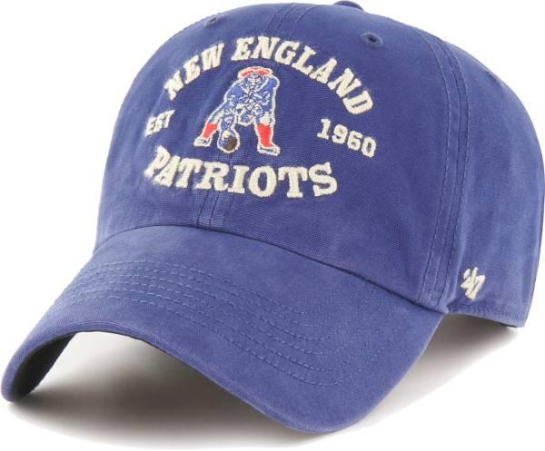 '47 Men's New England Patriots Royal Brockman Throwback Adjustable Hat product image