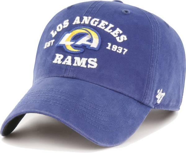 '47 Men's Los Angeles Rams Bone Reign Brockman Adjustable Hat product image
