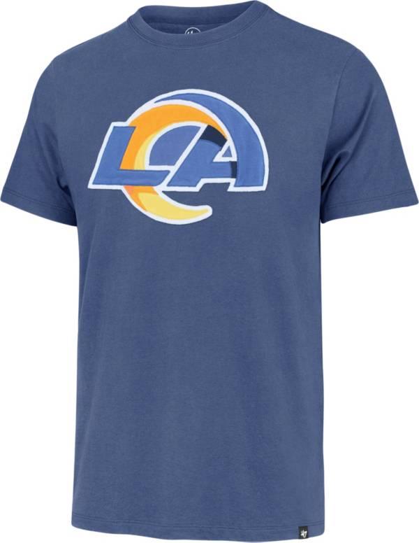 '47 Men's Los Angeles Rams Blue Fieldhouse T-Shirt product image