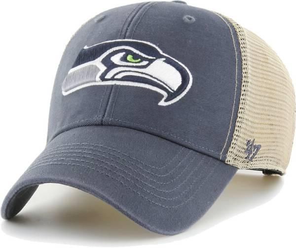 '47 Men's Seattle Seahawks Navy Flagship MVP Adjustable Hat product image