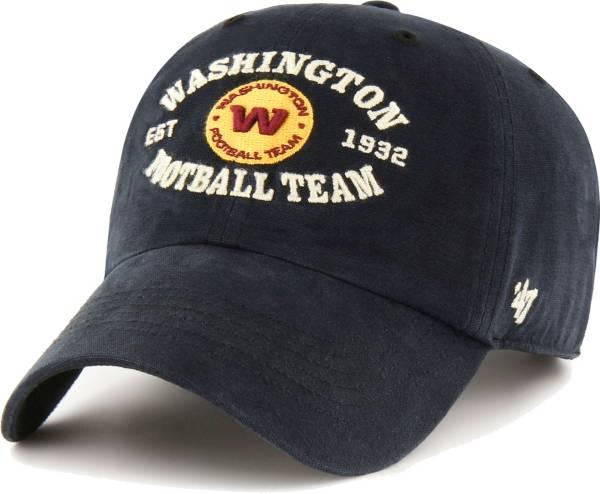'47 Men's Washington Football Team Black Reign Brockman Adjustable Hat product image
