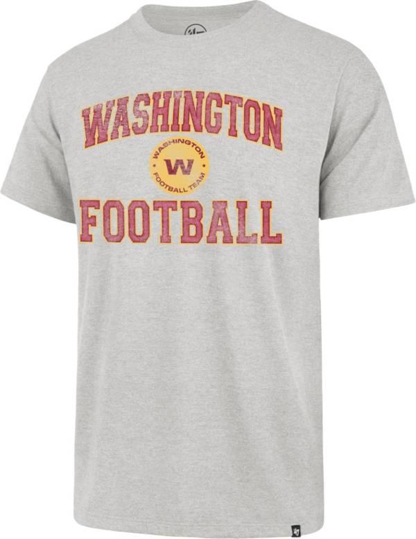 '47 Men's Washington Football Team Grey Stripe Franklin T-Shirt product image