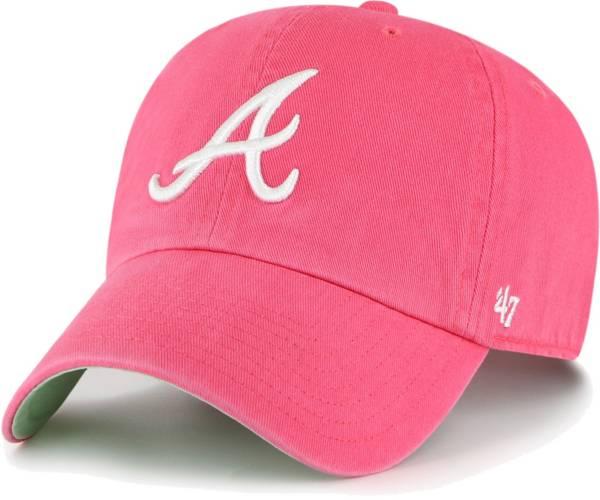 '47 Men's Atlanta Braves Berry Ballpark Clean Up Adjustable Hat product image