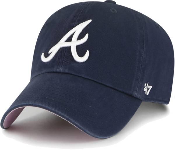 '47 Men's Atlanta Braves Navy Ballpark Clean Up Adjustable Hat product image