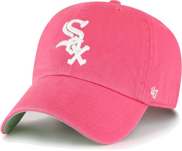 '47 Men's Chicago White Sox Berry Ballpark Clean Up Adjustable Hat product image
