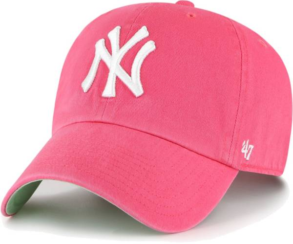 '47 Men's New York Yankees Berry Ballpark Clean Up Adjustable Hat product image