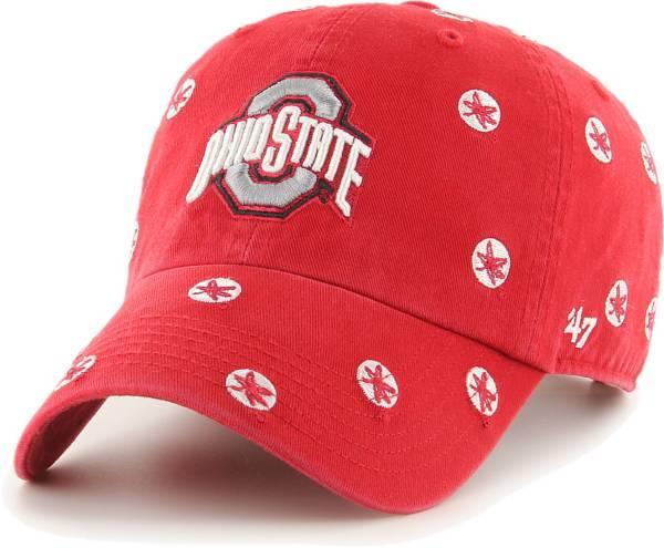 '47 Women's Ohio State Buckeyes Scarlet Confetti Adjustable Hat product image