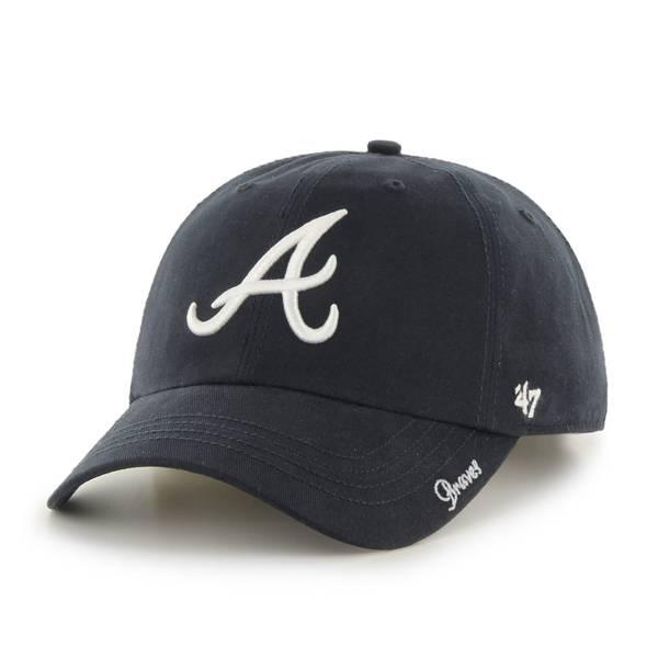 '47 Men's Atlanta Braves Navy Miata Clean Up Adjustable Hat product image