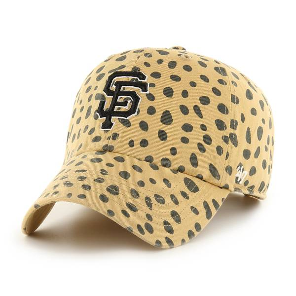 '47 Women's San Francisco Giants Tan Cheetah Print Clean Up Adjustable Hat product image