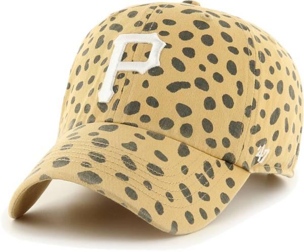 '47 Women's Pittsburgh Pirates Tan Cheetah Print Clean Up Adjustable Hat product image