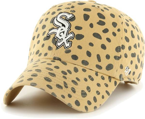 '47 Women's Chicago White Sox Tan Cheetah Print Clean Up Adjustable Hat product image