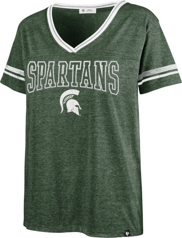 '47 Women's Michigan State Spartans Green Bling T-Shirt product image