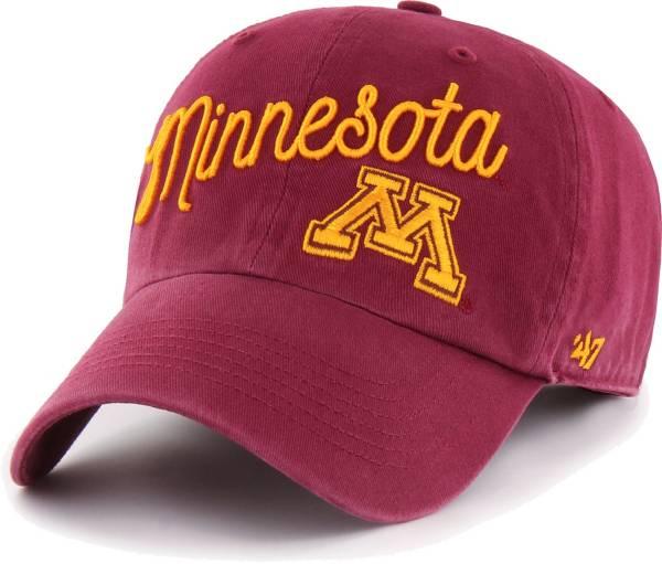 '47 Women's Minnesota Golden Gophers Maroon Millie Clean Up Adjustable Hat product image