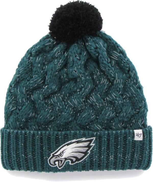 '47 Women's Philadelphia Eagles Green Cuffed Fiona Knit Beanie product image