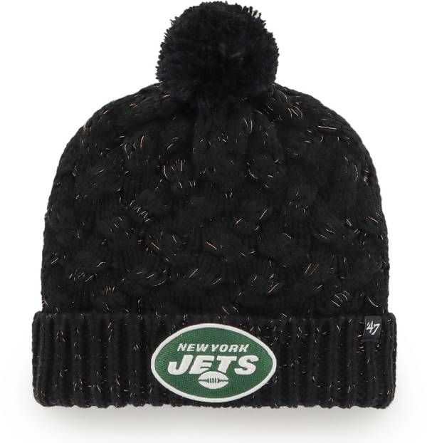 '47 Women's New York Jets Black Cuffed Fiona Knit Beanie product image
