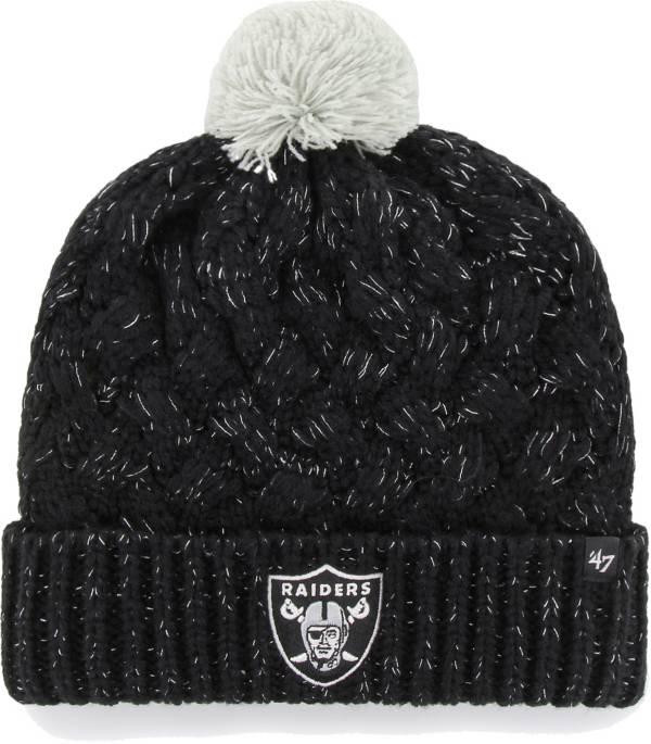 '47 Women's Las Vegas Raiders Black Cuffed Fiona Knit Beanie product image