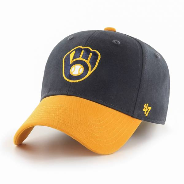 '47 Men's Milwaukee Brewers Short Stack MVP Adjustable Hat product image