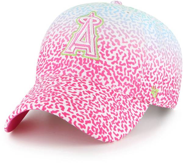 '47 Youth Los Angeles Angels Rainbow Groovy Clean Up Adjustable Hat product image