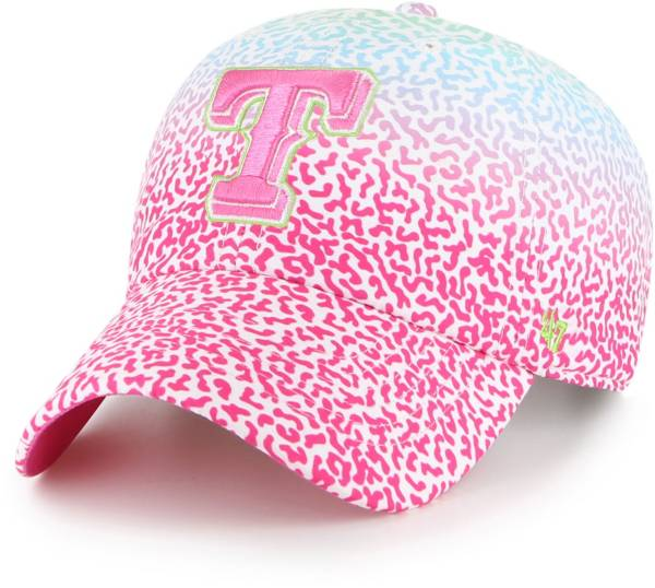 '47 Youth Texas Rangers Rainbow Groovy Clean Up Adjustable Hat product image