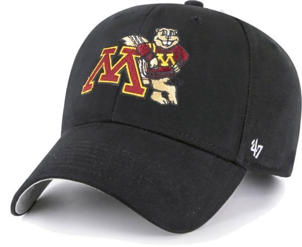 '47 Youth Minnesota Golden Gophers Black MVP Adjustable Hat product image
