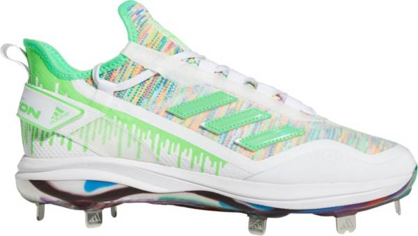 adidas Men's Icon 7 Boost Dripped-Out Metal Baseball Cleats product image