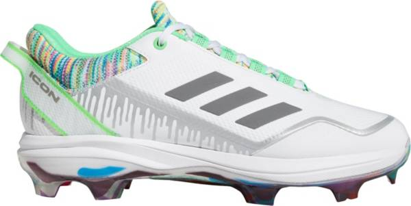 adidas Men's Icon 7 Dripped-Out TPU Baseball Cleats product image