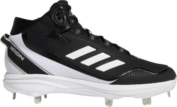 adidas Men's Icon 7 Mid Metal Baseball Cleats product image