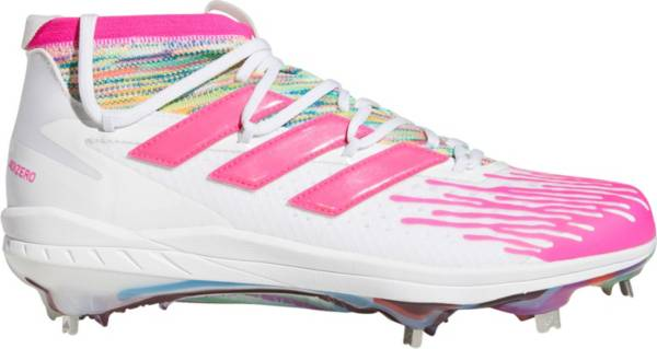 adidas Men's adizero Afterburner 8 NWV Dripped-Out Metal Baseball Cleats product image