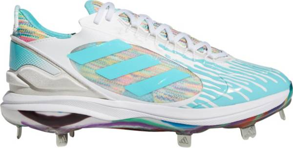 adidas Women's Purehustle 2 Elite Dripped-Out Metal Fastpitch Softball Cleats product image