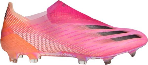 adidas X Ghosted + Laceless FG Soccer Cleats product image