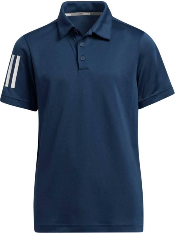 adidas Boys' 3-Stripes Polo Shirt product image