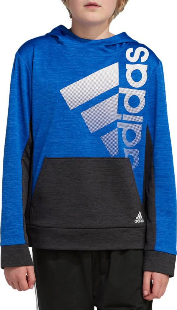 adidas Boys' Colorblock Pullover Hoodie product image